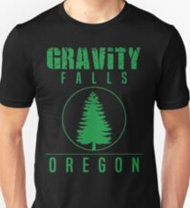 Gravity Falls Oregon Pine Unisex T-Shirt