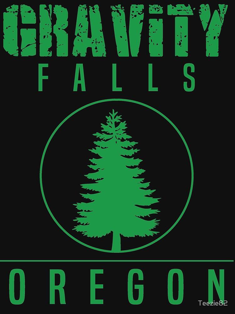 Gravity Falls Oregon Pine by Teezie82