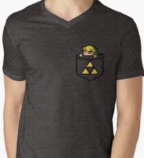 Legend of Zelda - Pocket Link Men's V-Neck T-Shirt