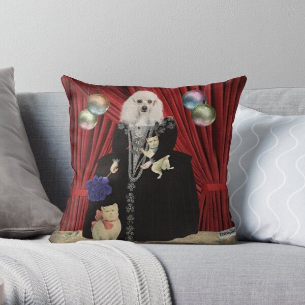 Animal Collection -- Jezebel Throw Pillow