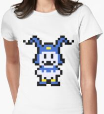 Pixel Jack Frost Women's Fitted T-Shirt