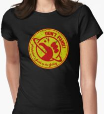 Hitchhiker's Guide Womens Fitted T-Shirt