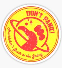 Hitchhiker's Guide Sticker