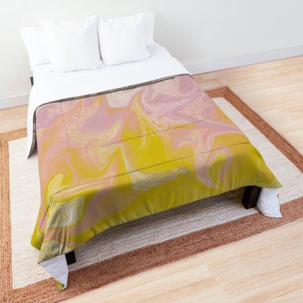 Pastel Fire Comforter