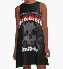 Hatebreed Devil Driver A-Line Dress