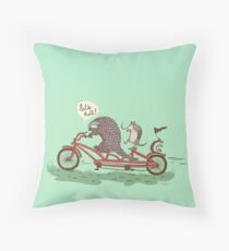 ROLLIN' PANGOLINS Throw Pillow