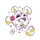 Koffing Popmuerto | Pokemon & Day of The Dead Mashup by abowersock
