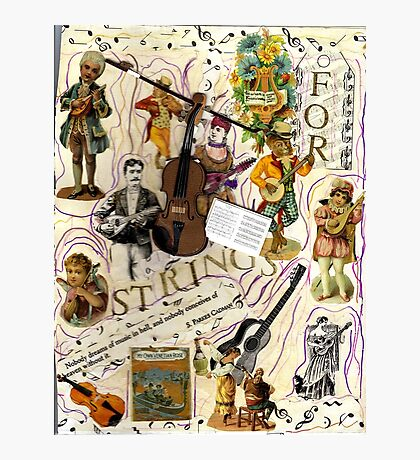 For Strings.. Photographic Print