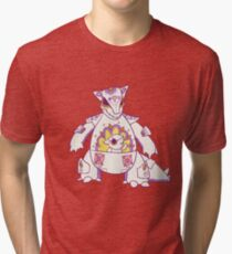 Kangaskhan Popmuerto | Pokemon & Day of The Dead Mashup Tri-blend T-Shirt