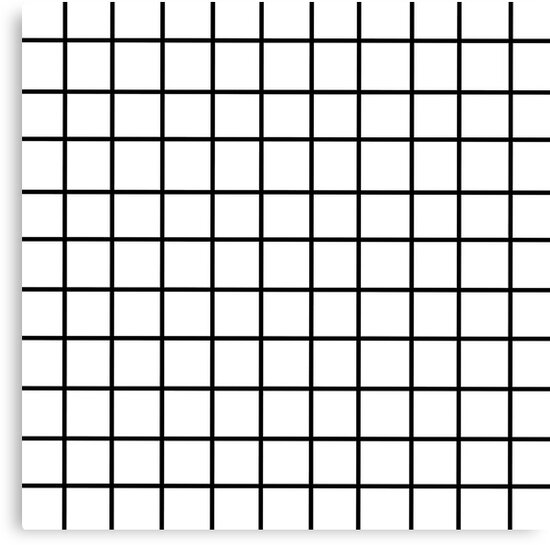 White Tumblr Grid Pattern Canvas Prints By SNOOPYSNEEK Redbubble Awesome Pattern Tumblr