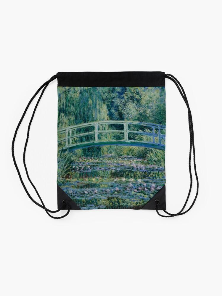 Alternate view of Claude Monet Drawstring Bag