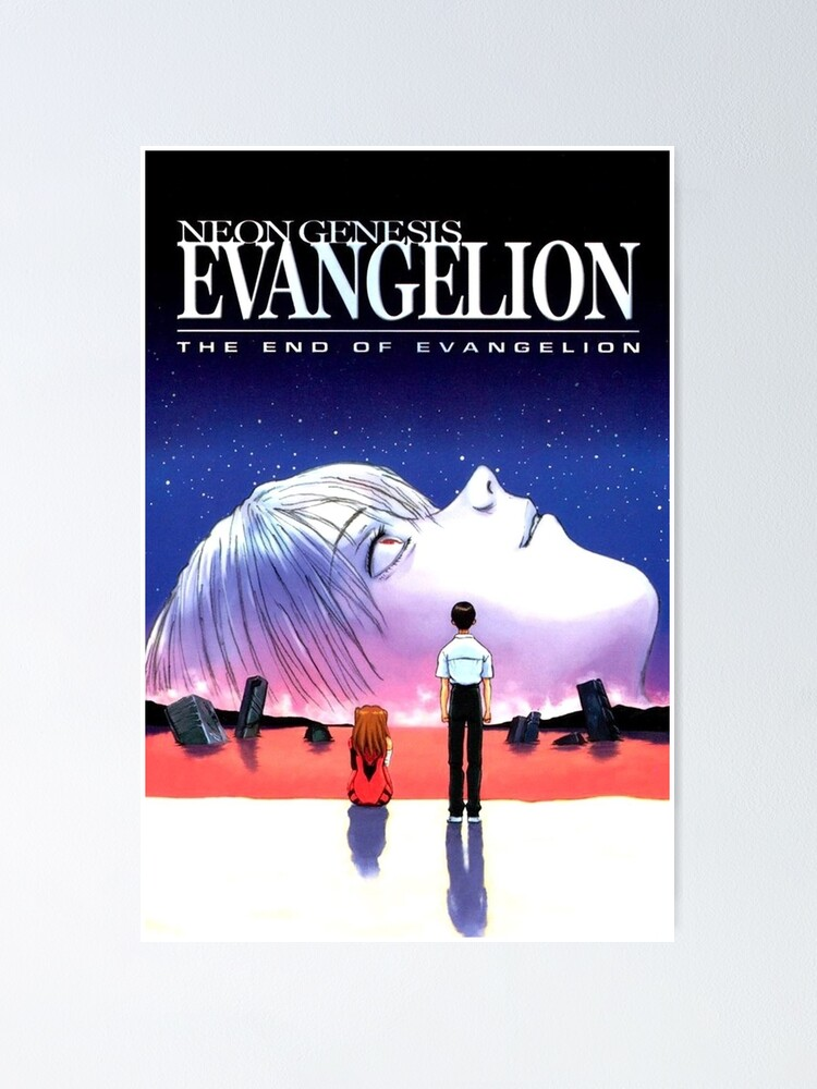 Alternate view of the end of evangelion Poster