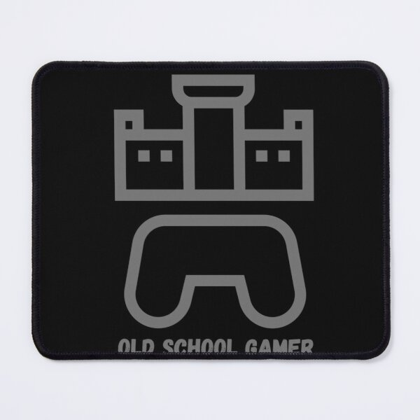 Funky old school gamer Mouse Pad