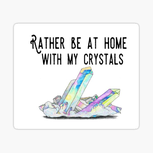 Crystal Lovers Sticker
