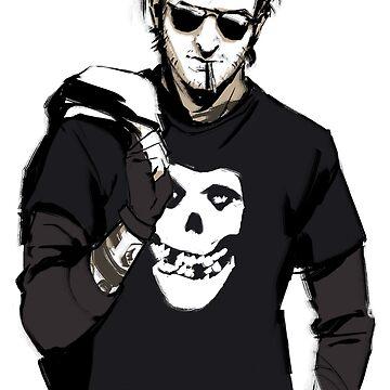 Supernatural - Punk!Gabriel by feredir