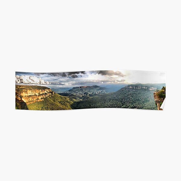 Sublime Point panorama Poster