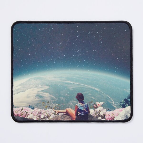 My World Blossomed when I Loved You Mouse Pad
