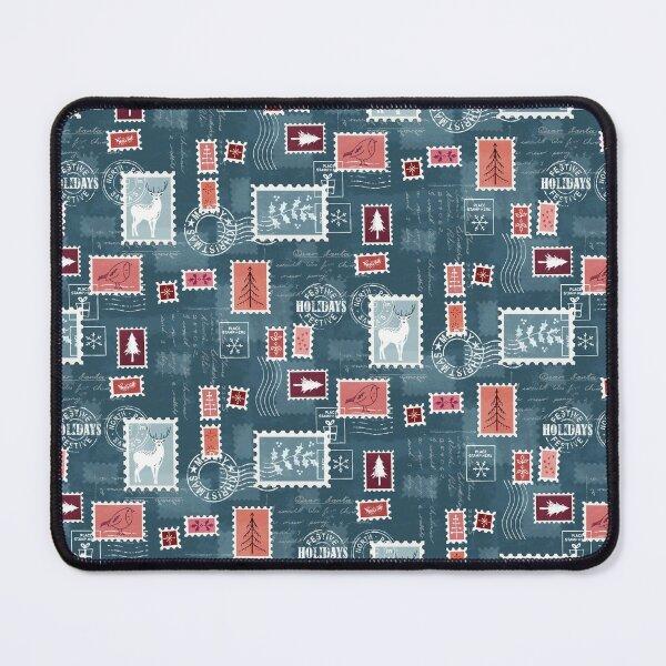Christmas stamps Mouse Pad