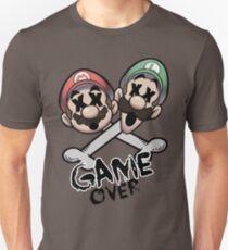 Mario and Luigi Game Over T-Shirt