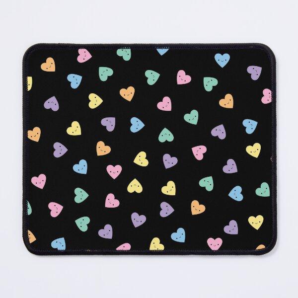 Kawaii Pastel Goth Candy Hearts Mouse Pad
