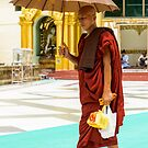A Monk 1 by Werner Padarin