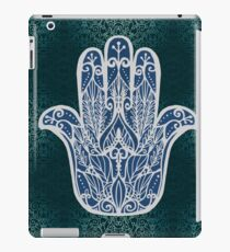 Hamsa Fatima amulet pattern iPad Case/Skin