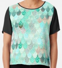 SUMMER MERMAID Chiffon Top
