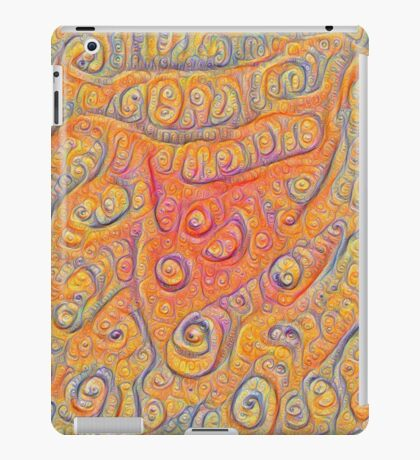 Orange #DeepDream iPad Case/Skin