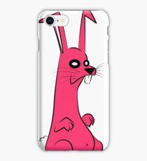 Pink Rabbit iPhone Case/Skin