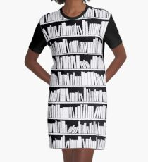 Read 'em and Weep Graphic T-Shirt Dress