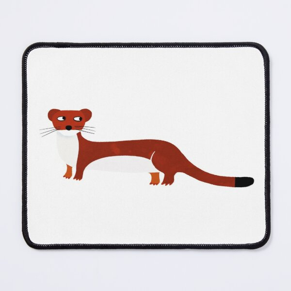 Weasel Mouse Pad