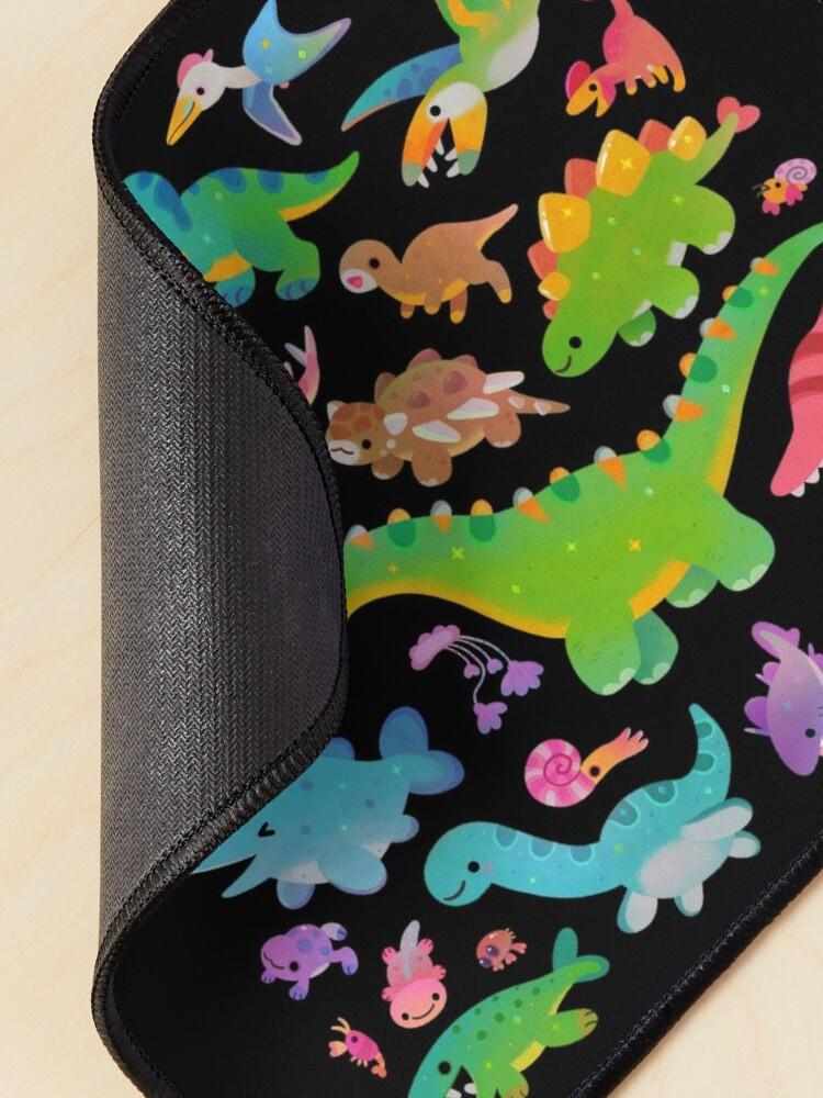 Alternate view of Jurassic baby - dark Mouse Pad