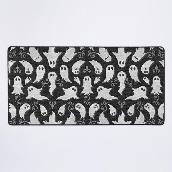 Cute Gothic ghosts Desk Mat