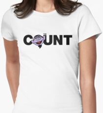 The Count Womens Fitted T-Shirt