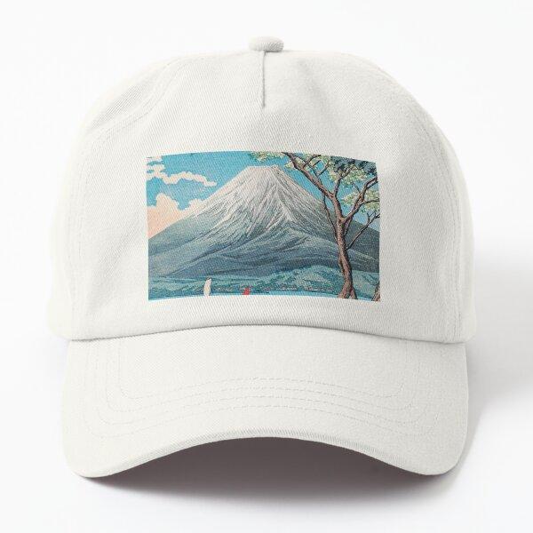 Mount Fuji and Lake Dad Hat