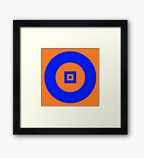 Circle of Depth Framed Print