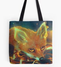 Fire Fox Tote Bag
