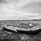 Storm Surge - Black and White by humblebeeabroad