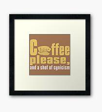 Gilmore Girls Coffee Framed Print