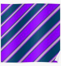 Violet Indigo Lilac Poster