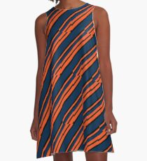 Electric Southern Crush A-Line Dress