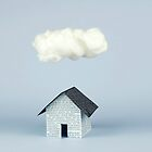 A cloud over the house by josemanuelerre