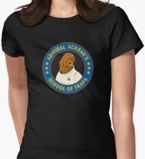 Admiral Ackbar's School of Traps Womens Fitted T-Shirt