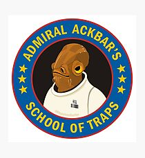 Admiral Ackbar's School of Traps Photographic Print