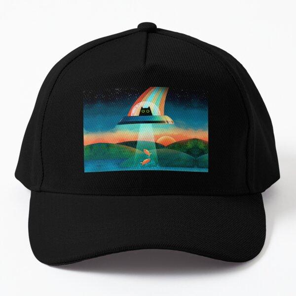 The Purrfect Alien  Baseball Cap