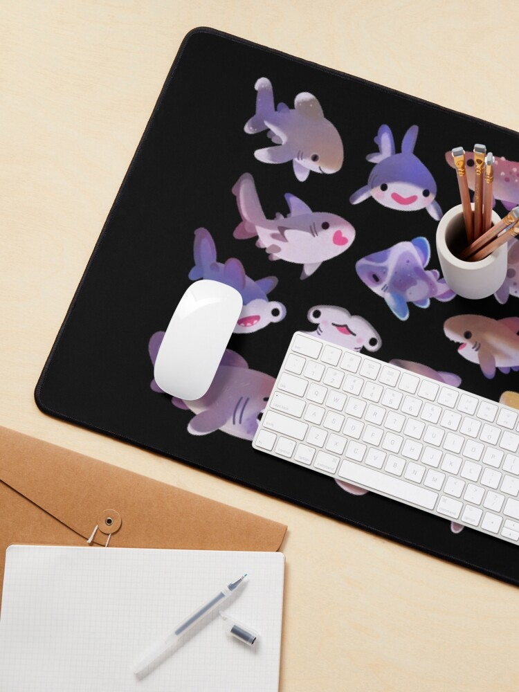 Alternate view of Shark day 2 Mouse Pad