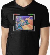Come with me. Mens V-Neck T-Shirt