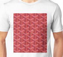 goyard phone case red Unisex T-Shirt