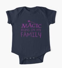 MAGIC runs in my family One Piece - Short Sleeve