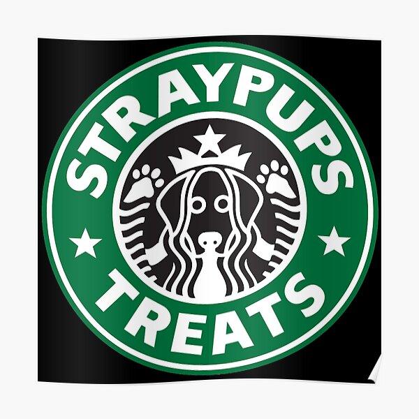 Straypups behandelt Poster